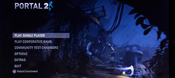 Portal 2 Video Game
